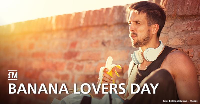 Lust auf eine Banane? Der 27. August ist 'Tag der Bananenliebhaber' – der 'Feiertag' stammt aus den USA.