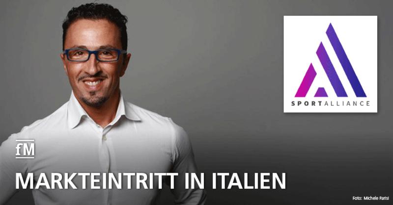 Sport Alliance gibt Markteintritt in Italien bekannt: Michele Parisi, International Business Manager.