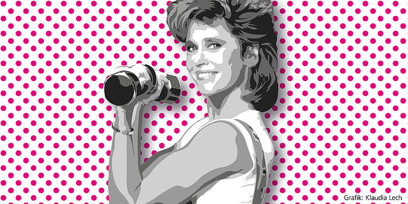 Aerobic-Queen Jane Fonda