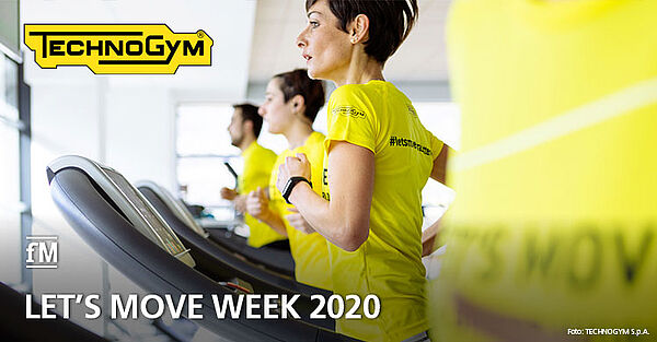 Vereint im Kampf gegen Bewegungsmangel: Technogym-Kampagne 'Let's Move Week 2020'