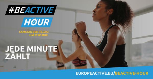 #BEACTIVE HOUR: Kampagne für ein aktives Europa