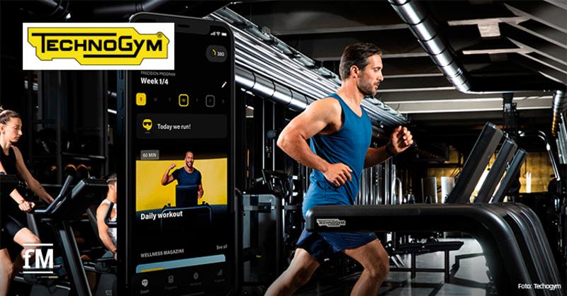 Mit der Mywellness-App von Technogym bieten Studiobetreiber ihren Mitgliedern ein umfassendes digitales Trainingsangebot