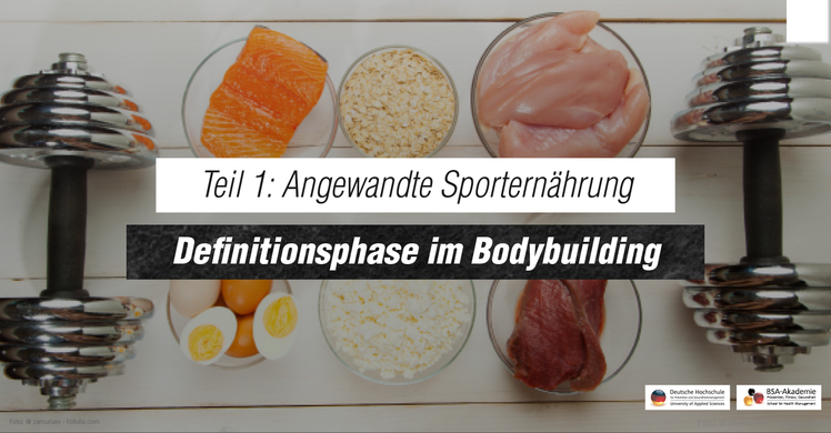 Definitionsphase im Bodybuilding