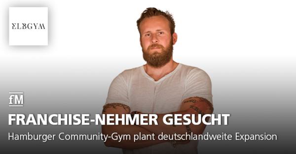 Hamburger Community-Gym plant deutschlandweite Expansion und sucht Franchise-Nehmer, die ein ELBGYM-Studio eröffnen wollen.