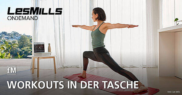 Les Mills On Demand: Frauen kurbeln Fitness 2.0 an