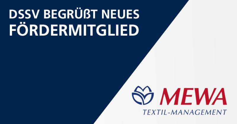 MEWA Textil-Management ist neues DSSV Fördermitglied