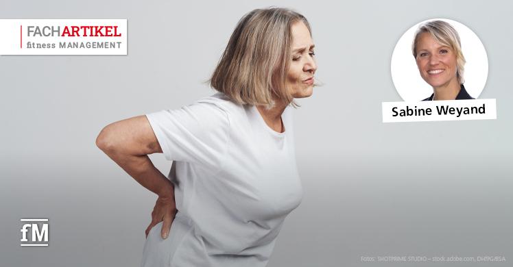 Die lumbale Spinalkanalstenose – Rehabilitatives Fitnesstraining (Teil 2)