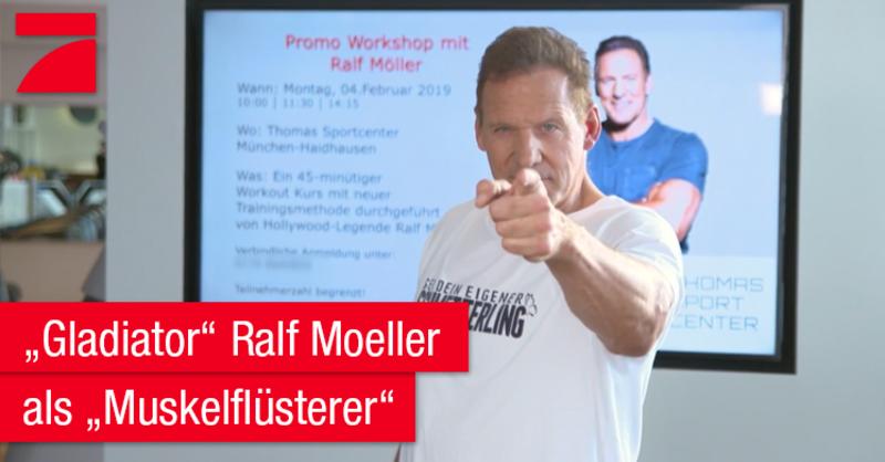 Schauspieler und Modellathlet sorgt in der Versteckte-Kamera-Show 'Mein bester Streich. Prominent & Reingelegt' auf ProSieben mit seinem Esoterik-Workout für jede Menge Lacher.