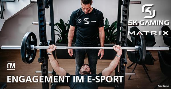 Johnson Health Tech. GmbH wird mit Matrix neuer Fitnessgeräte-Partner der E-Sport Organisation SK Gaming.