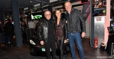 Albert Busek, Barbara Lohse, Henrik Gockel Grand Opening von Prime Time Fitness in der Maximilianstraße in München am 20.01.2020