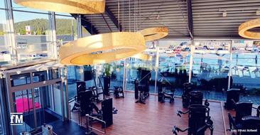 Lichtdurchflutete Räume und Geräteausstattung führender Hersteller im neuen Studio Fitness Rottweil