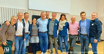 Alles über BGM und Austauschmöglichkeiten beim milon-Netzwerktreffen im Evonik Gym im Sportpark Marl (Nordrhein-Westfalen)