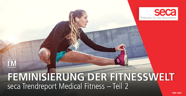 seca Trend Report Medical Fitness Teil 2: Feminisierung der Fitnesswelt