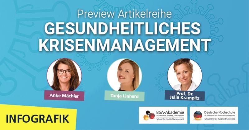 Fachartikelreihe mit Anke Mächler, Tanja Linhard und Prof. Dr. Julia Krampitz