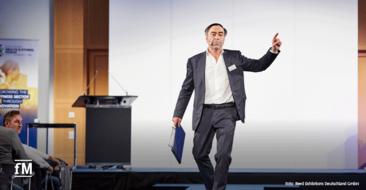 Rückblick in Zeiten vor Corona: EuropeActive-Mitgründer Herman Rutgers beim EHFF 2019.