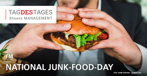 21. Juli: National Junk-Food-Day USA