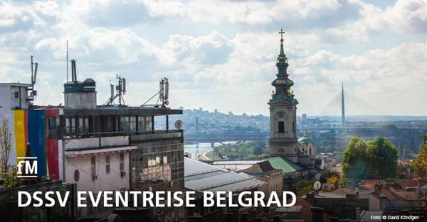 DSSV Eventreise mit europäischem Fitnesskongress und Besuch der Fitness-Messe BELFIS im serbischen Belgrad im Oktober 2019.