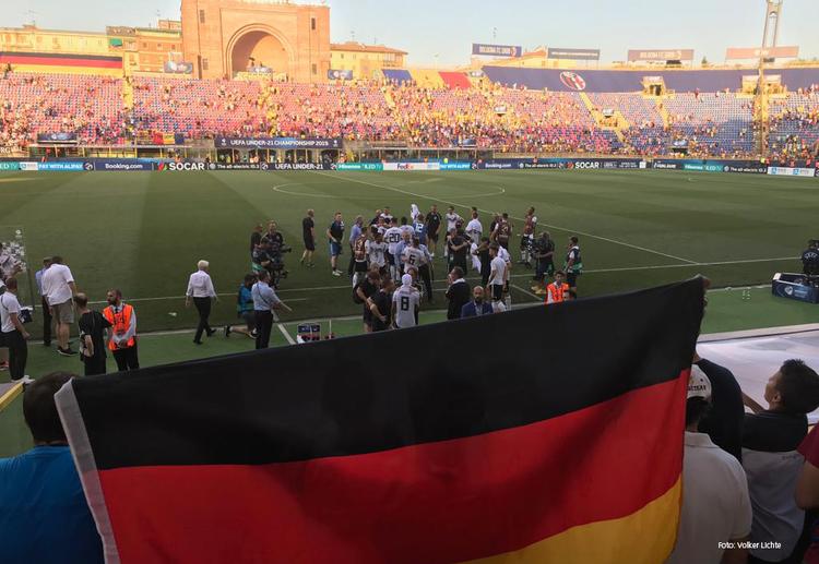 In Bologna gewann die deutsche U21 in einer wahren Hitzeschlacht