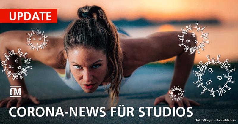 Outdoor Gyms & Impfangebot der EU bis September. Jetzt im Corona-Update nachlesen!