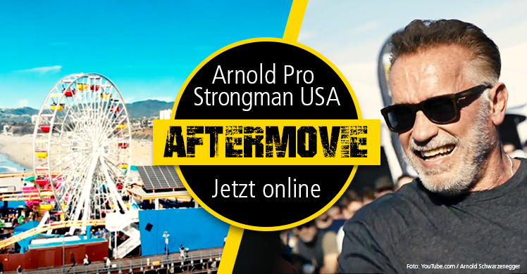 Arnold Schwarzenegger - Strongman USA Aftermovie