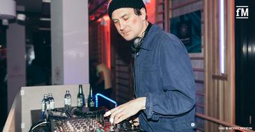 Schauspieler und DJ Lars Eidinger (Autistic Disco/!K7) beim Grand Opening der John & Jane's Soulbase in Berlin.