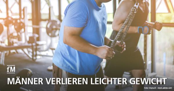 Internationale Abnehmstudie: Männer verlieren leichter Gewicht als Frauen.