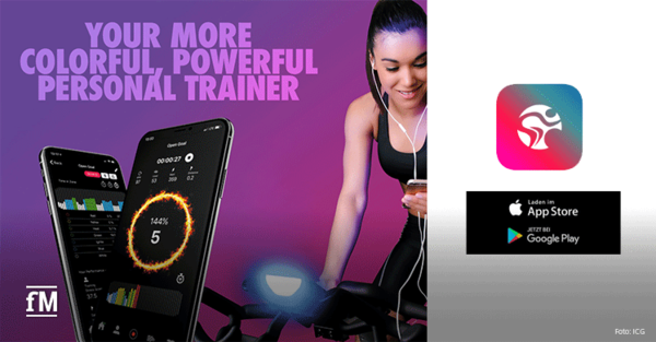 ICG App als digitaler Fitnesscoach