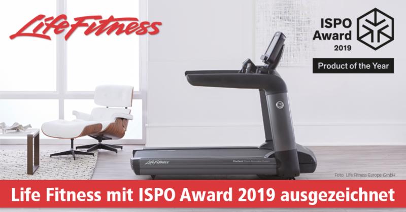 Life Fitness gewinnt ISPO Award 2019