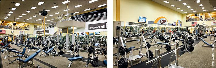 Fitnessstudio Equinox Santa Monica