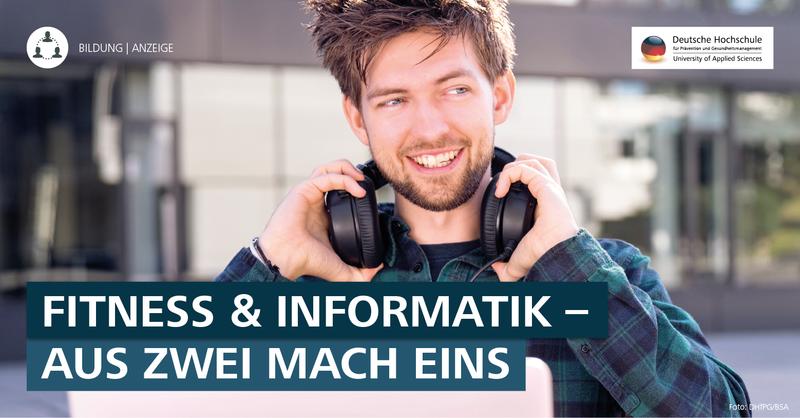DHfPG-Studiengang B. Sc. Sport-/Gesundheitsinformatik