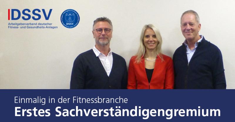 Das DSSV-Sachverständigengremium: Günter Noll, Sabrina Fütterer, Werner Kündgen