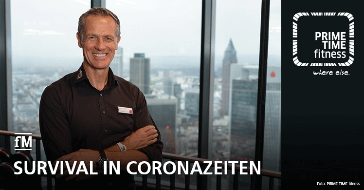 Corona-Pandemie: Survival in Krisenzeiten – Interview mit PRIME TIME fitness GmbH Geschäftsführer Henrik Gockel