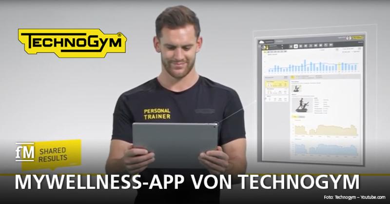 Sport-, Fitness- und Gesundheitsziele erreichen mit der Mywellness-App von Technogym
