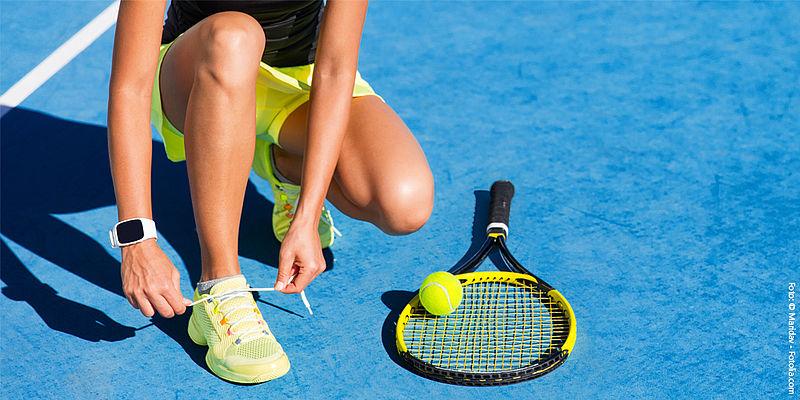 Fitness und Tennis