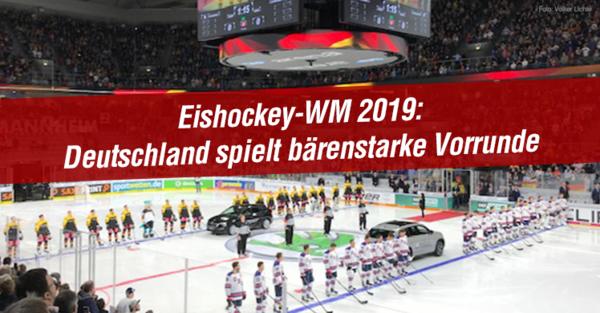 DEB-Auswahl mit perfektem Start bei Eishockey WM 2019