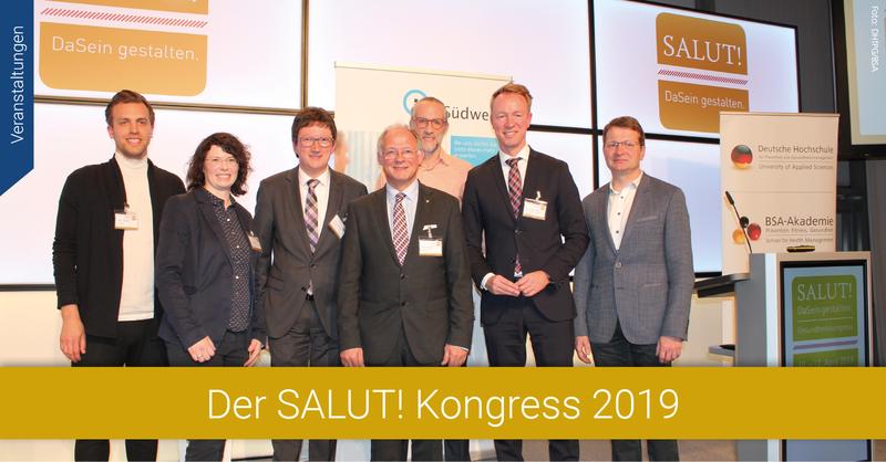 """5. Bundesweites Gesundheitsforum """"SALUT! DaSein gestalten"""" in der Saarbrücker Congresshalle."""