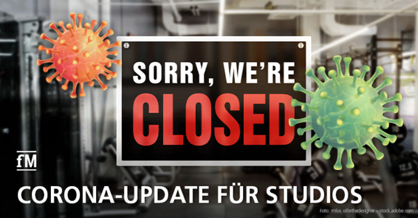 Tägliches Corona-Update für Fitnessstudios im Lockdown