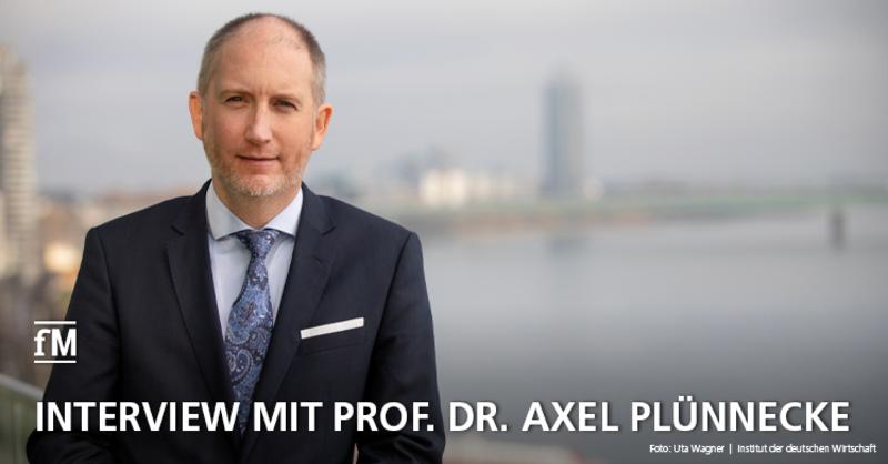Wirtschaftsforscher Prof. Dr. Axel Plünnecke (IW) im Interview