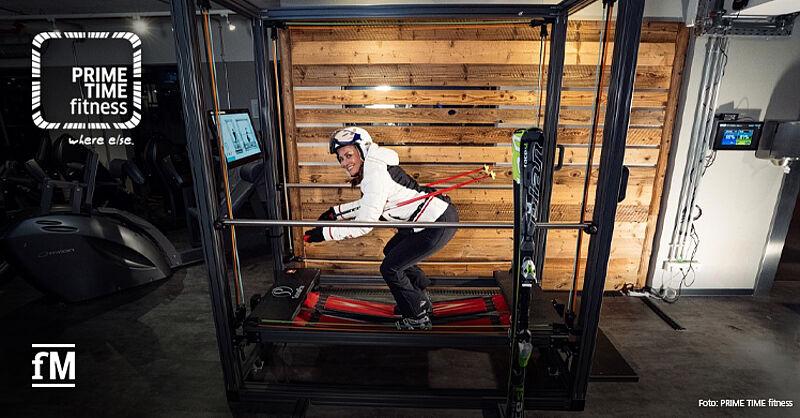 PRIME TIME fitness laucht innovatives Ski-Krafttraining auf dem SensoPro.