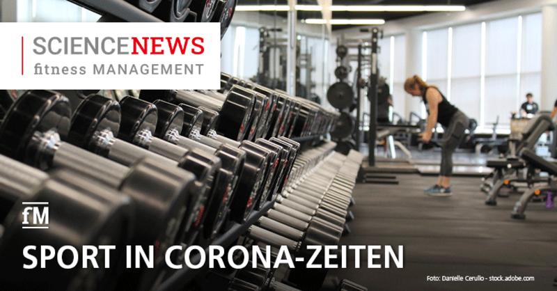 Science News: Sport in Corona-Zeiten