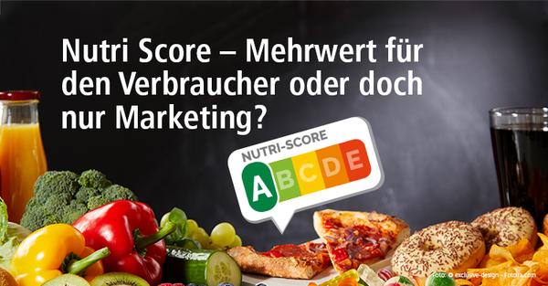 Was Sie über die neue Lebensmittelkennzeichnung Nutri-Score wissen sollten.