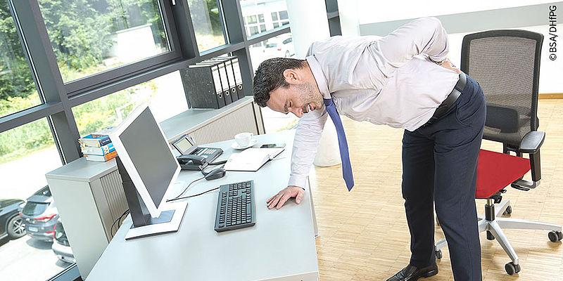 Gezielte Bewegung zur Prävention von Rückenschmerzen