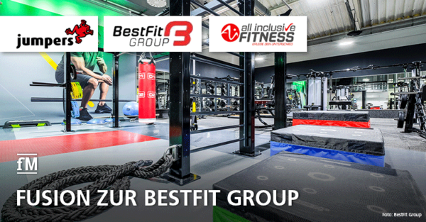 Fusion zur BestFit Group: Jumpers Fitness übernimmt Ai Fitness