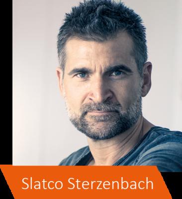 'Sieger denken anders', sagt Slatco Sterzenbach und widmet sein Leben mit Begeisterung den Unternehmen und Menschen, die bereit sind, auf dem Weg der mentalen Transformation ihr MIND.SET zu verändern.