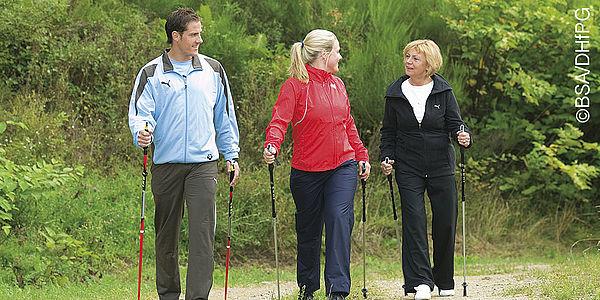 Sport hat positive Auswirkungen auf die Gesundheit