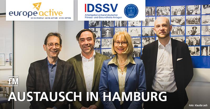 EuropeActive und DSSV tauschen sich in Hamburg aus