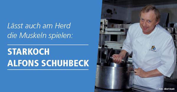 Sternekoch Alfons Schuhbeck ist auch nach seinem 70. Geburtstag noch topfit.