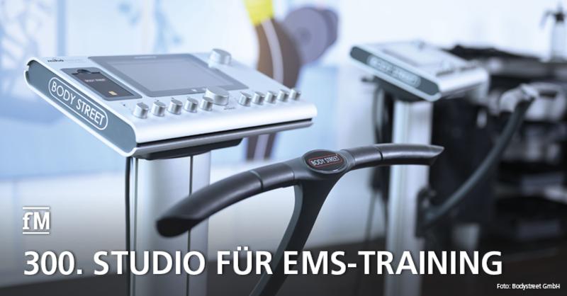 EMS-Anbieter Bodystreet erreicht weiteren 'Meilenstein'.