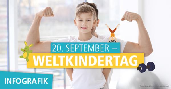 Wie fit sind unsere Kids? Anlässlich des Weltkindertages nehmen wir den Fitnesszustand unseres Nachwuchses unter die Lupe.