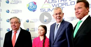 Fit fürs Klima – Power-Duo für den Klimaschutz: Schwarzenegger & Thunberg kämpfen Seite an Seite